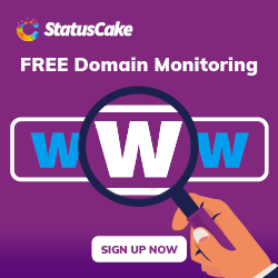 FREE Domain Monitoring